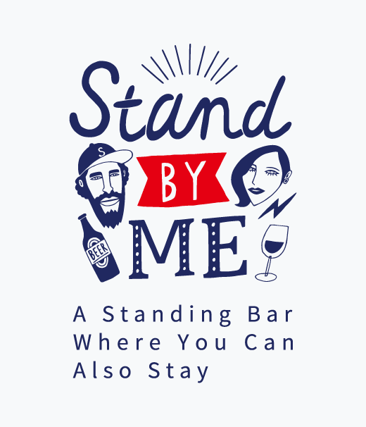 A Standing Bar, where you can also stay