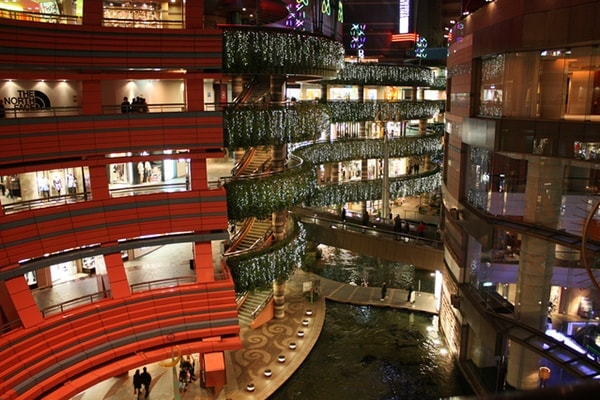 Canal City in Hakata